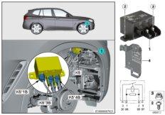 Relais Elektrolüfter Motor 850W K5