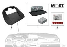 BMW Head-Up Screen für Werksnavigation