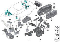 Stromverteiler  /  B+ Verteiler