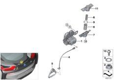 Heckklappe / Schliesssystem