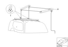 Adapter (Universallift) für Haube