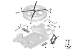 Bordwerkzeug / Wagenheber