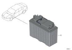 12-V-Lithium-Dualspeicherbatterie