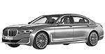 BMW 7er G12 LCI Limousine