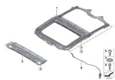 Panoramadach Rahmen