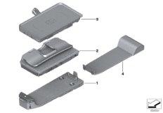 Elektronikteile Telefon Mittenkonsole