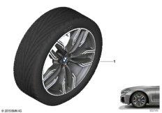 BMW LM Rad M Doppelspeiche 760M - 20