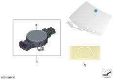 Sensor Regen / Licht / Solar / Beschlag