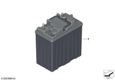 12-V-Lithium-Ionen-Zusatzbatterie