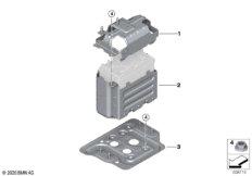 Zusatzbatterie Anbauteile