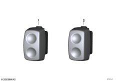 Schalter Sitzheizung / Griff beheizt