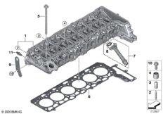 Zylinderkopf / Anbauteile