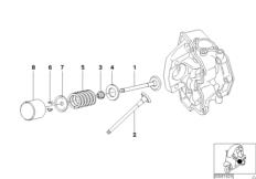Ventilsteuerung-Einlass- / Auslassventil