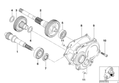Variator- / Untersetzungsgetriebe