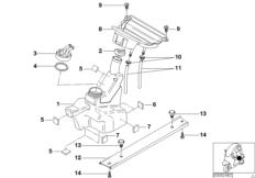 Kraftstofftank-Tankverschluss