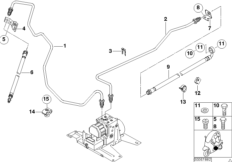 Bremsleitung hinten ABS