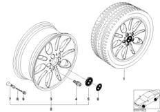BMW LM Rad Ellipsoidstyling 56