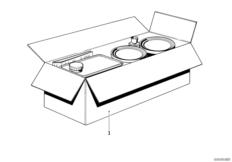 Metallic Lack Set