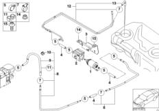 Kraftstoffversorgung / Pumpe / Leitung