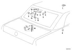 EH-Verdeck Microschalter