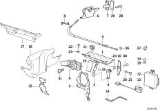 EM-Verdeck-Einzelteile
