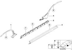 Blende Schweller  /  Radlauf
