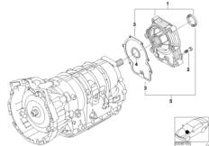 A5S360R / 390R Abtrieb Allrad