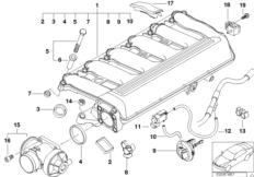Sauganlage-AGR mit Klappensteuerung