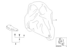 Abdeckhaube  /  Sitzabdeckung