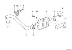 Abgasrohr / Schalldämpfer