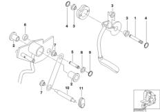 Kniehebelmechanik-Hebellagerung