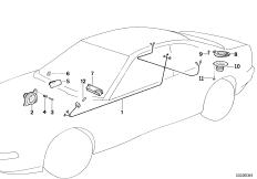 Einzelteile Stereo System