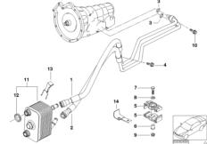 Ölkühlerleitung / Wärmetauscher