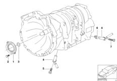 A5S360R / 390R Dichtungen / Drehzahlgeber