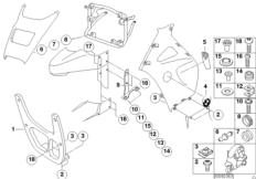 Verkleidungsteile - Anbauteile