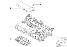 Einzelteile Sicherungskasten Innenraum