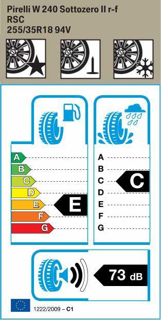 BMW Reifen ottozero 2 RSC 255 35 R18 94V