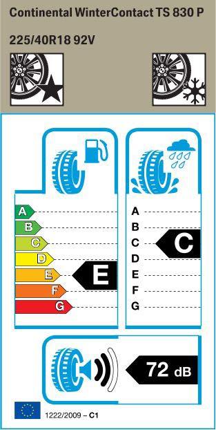 BMW Reifen nter Contact TS830P 225 40 R18 92V