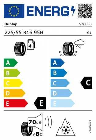 BMW Reifen Dunlop SP Winter Sport 4D 225-55 R16 W