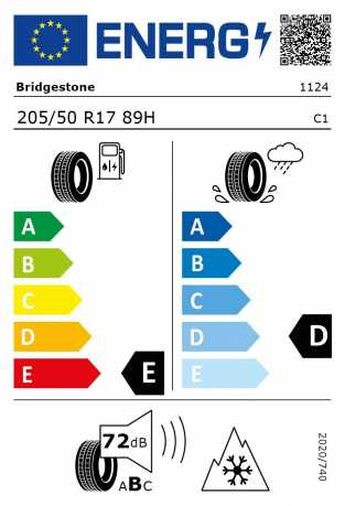 BMW Reifen Bridgestone Blizzak LM-25 RFT 205-50 R17 W