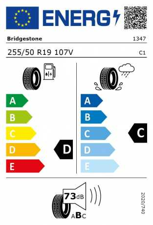 BMW Reifen Bridgestone Dueler H-P Sport RFT 255-50 R19 EK