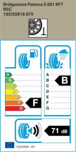 BMW Reifen tenza S001 RSC 195 55 R16 87V