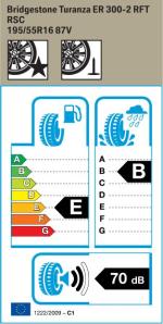 BMW Reifen Bridgestone Turanza ER 300-2 RFT