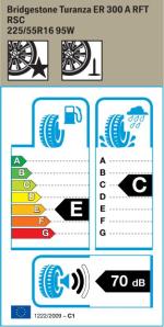 BMW Reifen Bridgestone Turanza ER 300 A RFT