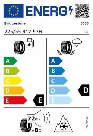 BMW Reifen Bridgestone Blizzak LM-32 RFT 225-55 R17 W