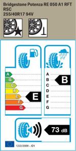 BMW Reifen Bridgestone Potenza RE 050 A1 RFT