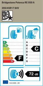 BMW Reifen Bridgestone Potenza RE 050 A