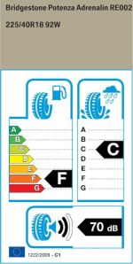 BMW Reifen tenza Adrenalin RE002  225 40 R18 92W