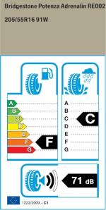 BMW Reifen tenza Adrenalin RE002 205 55 R16 91W