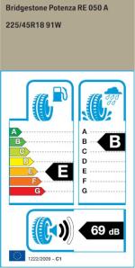 BMW Reifen tenza RE050A 225 45 R18 91W